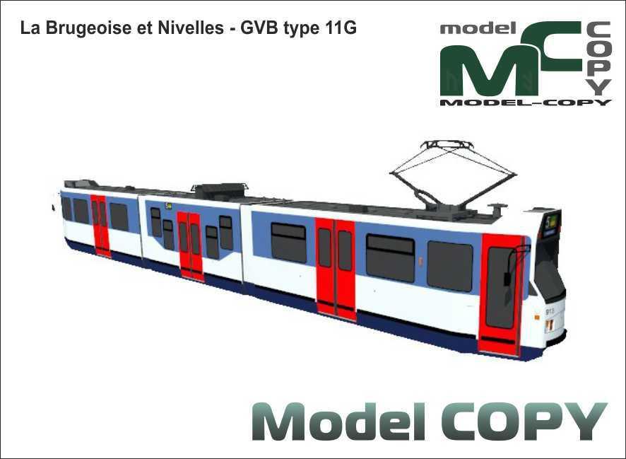 La Brugeoise et Nivelles - GVB type 11G - 3D Model