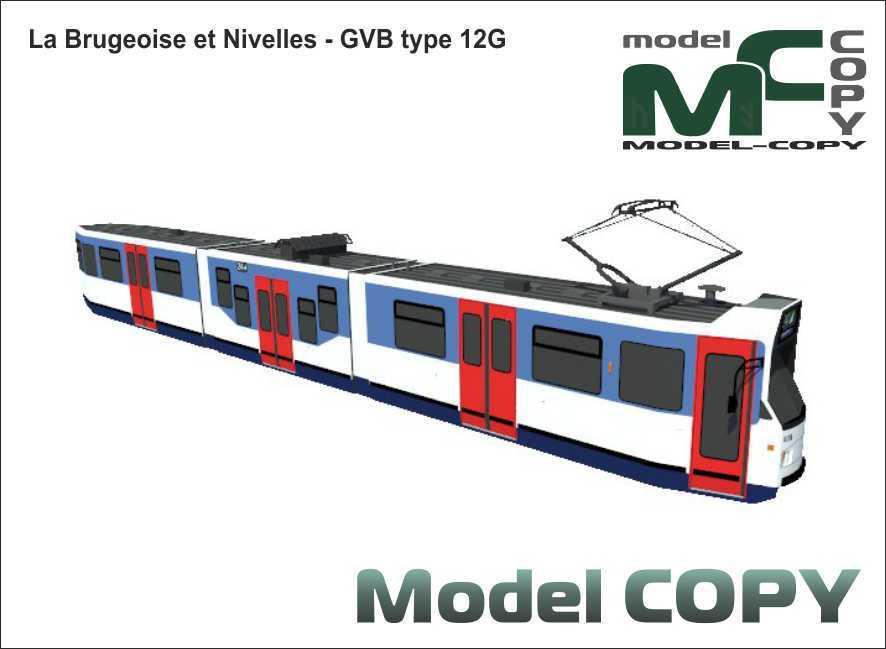 La Brugeoise et Nivelles - GVB type 12G - 3D Model