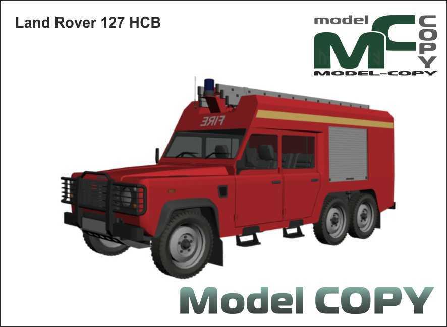 Land Rover 127 HCB - 3D Model