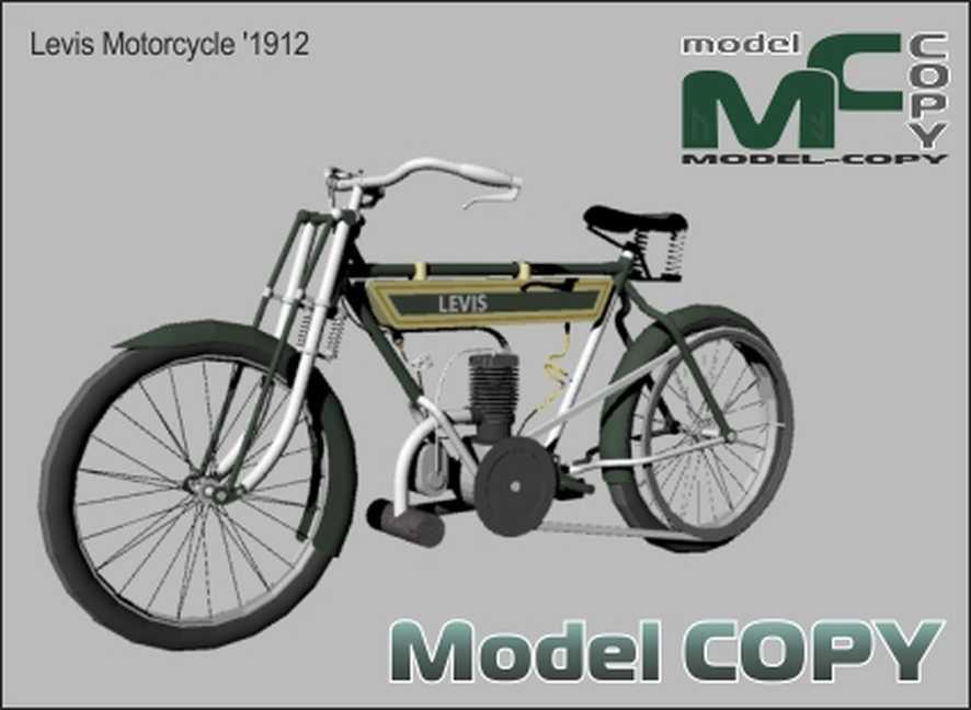 Levis Motorcycle '1912 - Modelo 3D