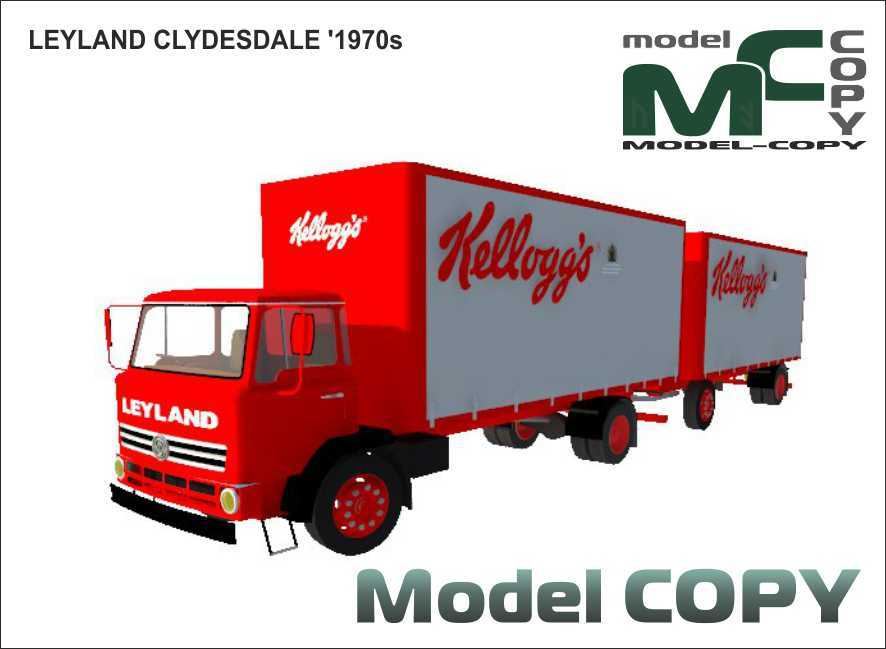 LEYLAND CLYDESDALE '1970s - 3D Model