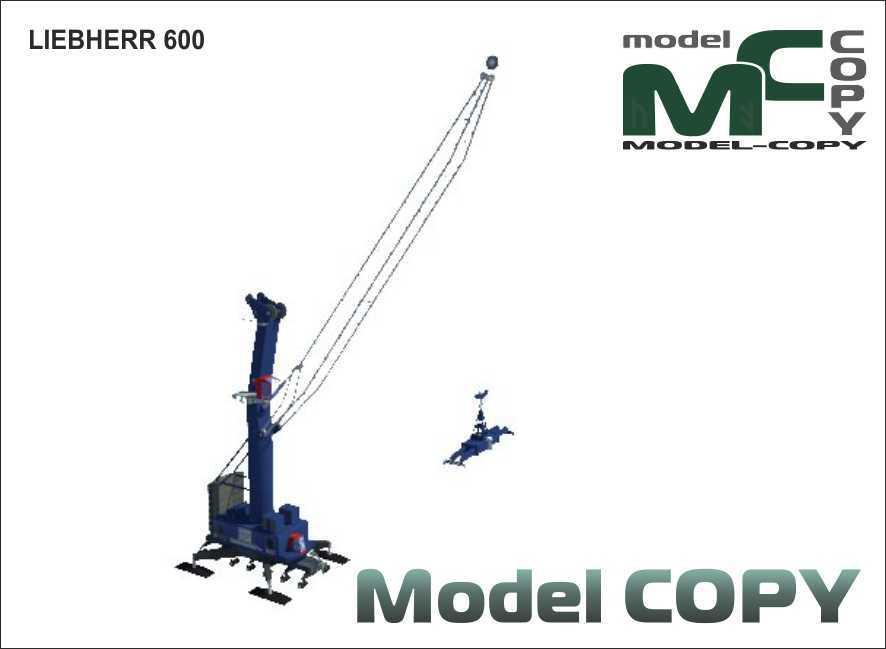 LIEBHERR 600 - 3D Model