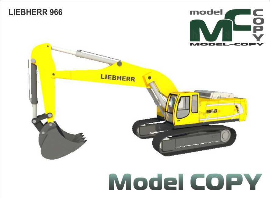 LIEBHERR 966 - 3D Model