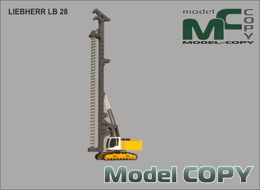 LIEBHERR LB 28 - 3D Model