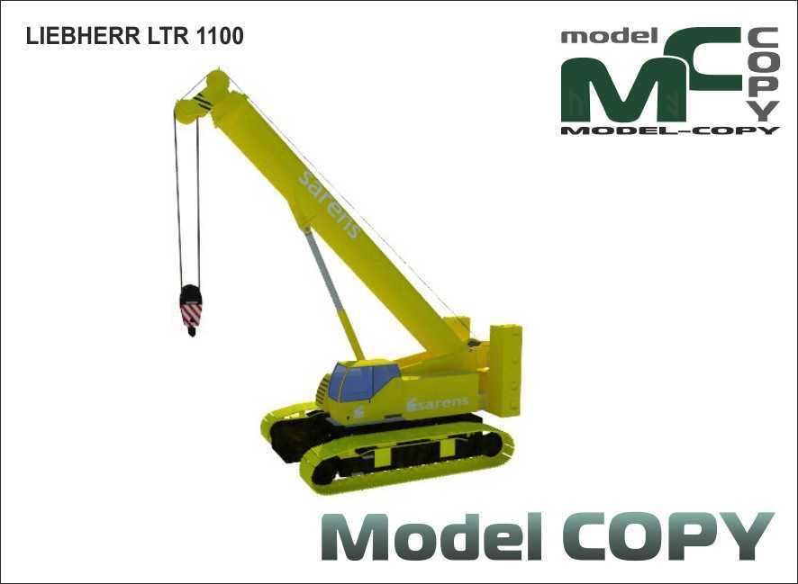 LIEBHERR LTR 1100 - 3D Model