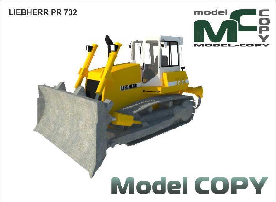 LIEBHERR PR 732 - 3D Model