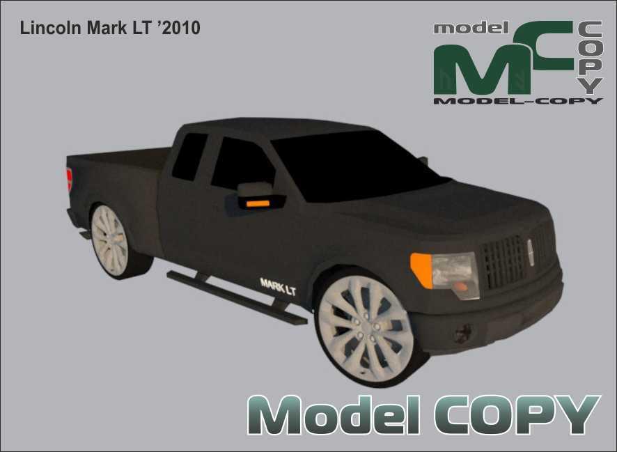 Lincoln Mark LT '2010 - 3D Model