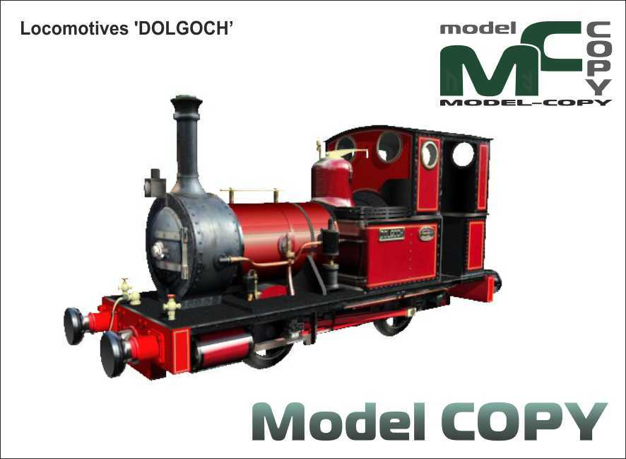 Locomotives 'DOLGOCH' - 3D Model
