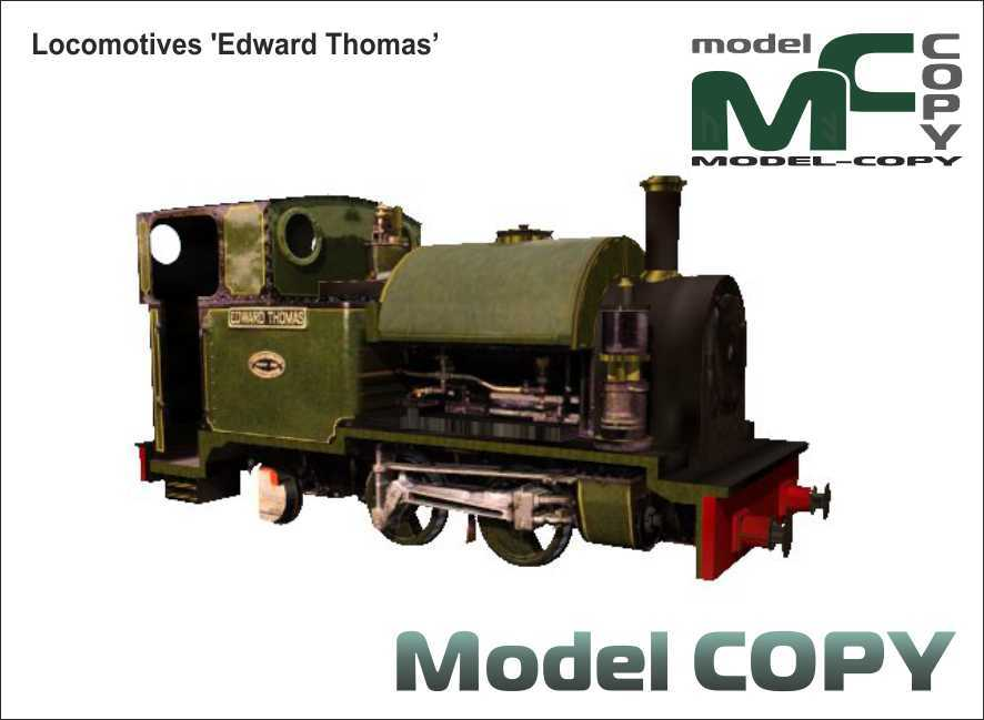 Locomotives 'Edward Thomas' - 3D Model