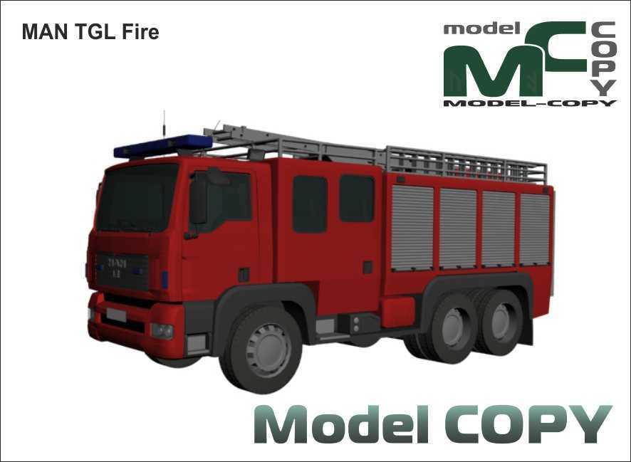 MAN TGL Fire - 3D Model