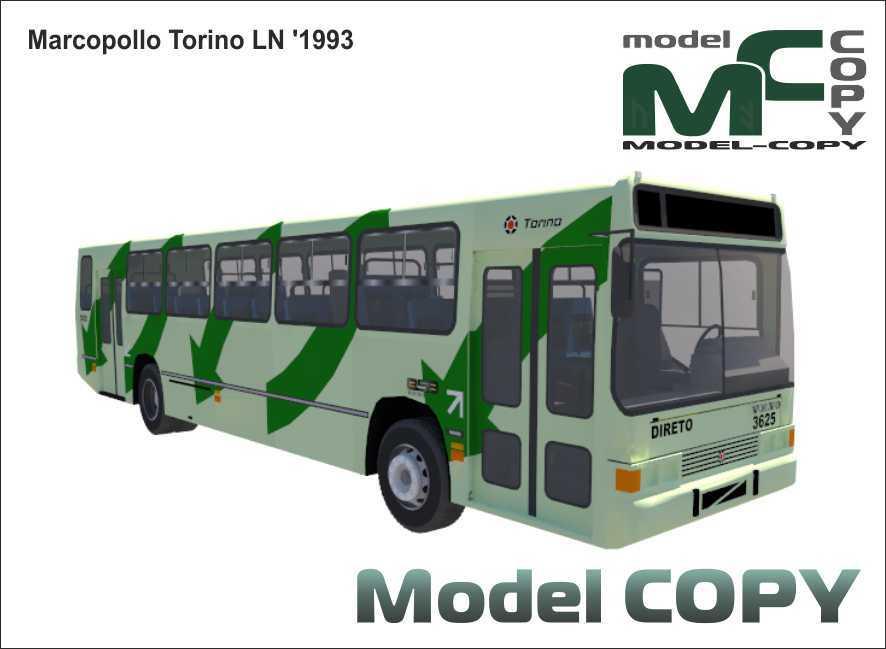 Marcopolo Torino LN '1993 - 3Dモデル