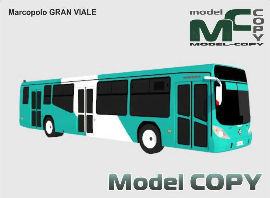 Marcopolo GRAN VIALE - 3D Model