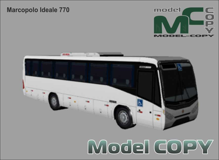 Marcopolo Ideale 770 - 3D Model