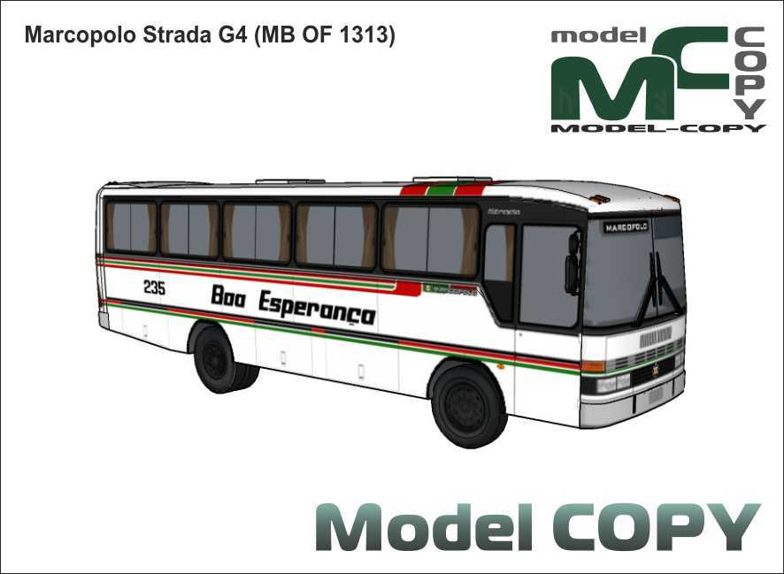 Marcopolo Strada G4 (MB OF 1313) - 3D Model