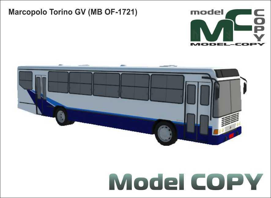 Marcopolo Torino GV (MB OF-1721) - 3D Model