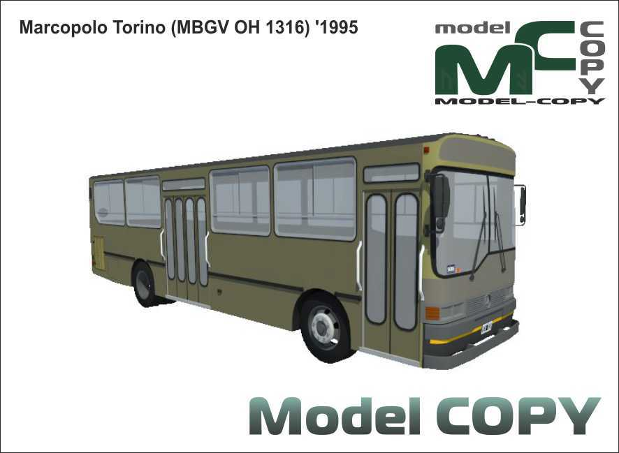 Marcopolo Torino (MBGV OH 1316) '1995 - 3D Model