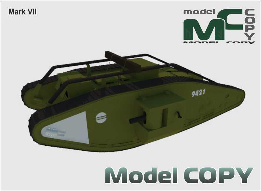 Mark VII - 3D Model