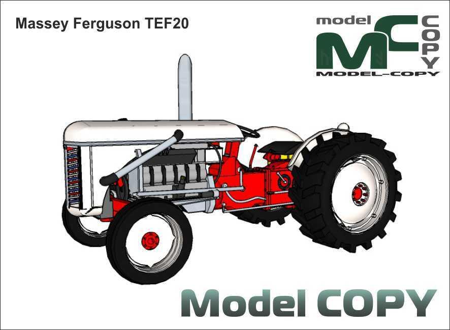Massey Ferguson TEF20 - 3D Model