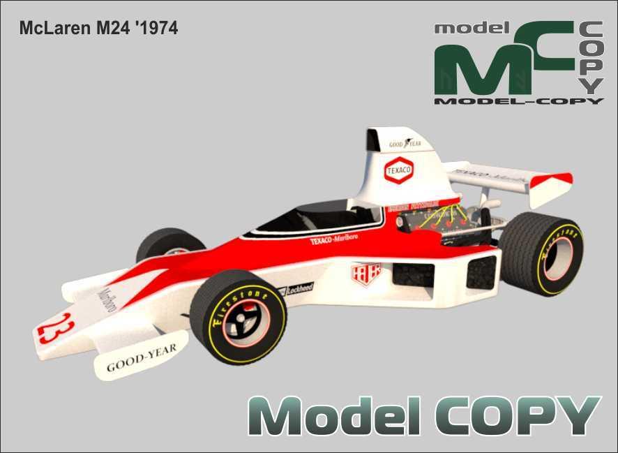 McLaren M24 '1974 - 3D Model