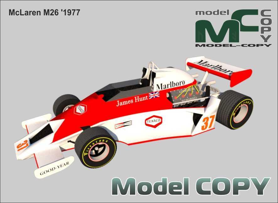 McLaren M26 '1977 - 3D Model