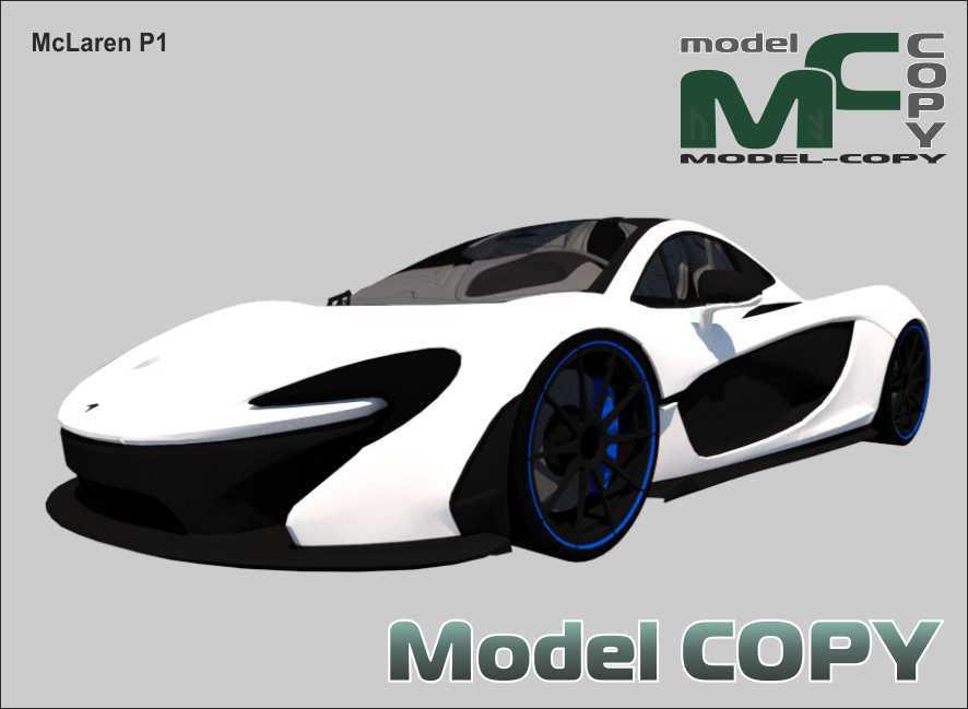 McLaren P1 - 3D Model