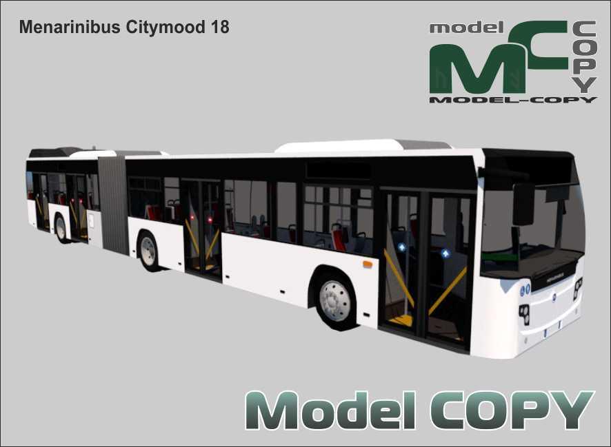 Menarinibus Citymood 18 - 3D Model