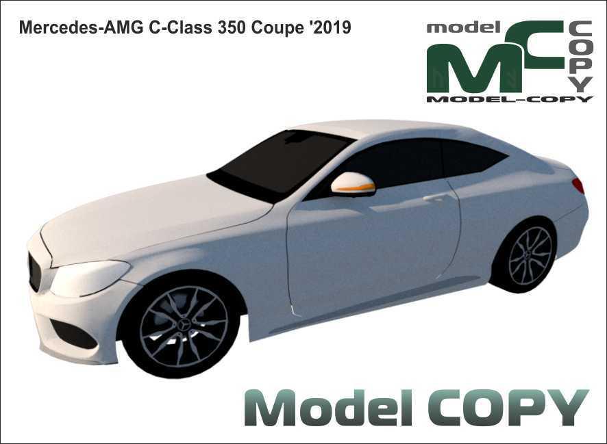 Mercedes-AMG C-Class 350 Coupe '2019 - 3D Model