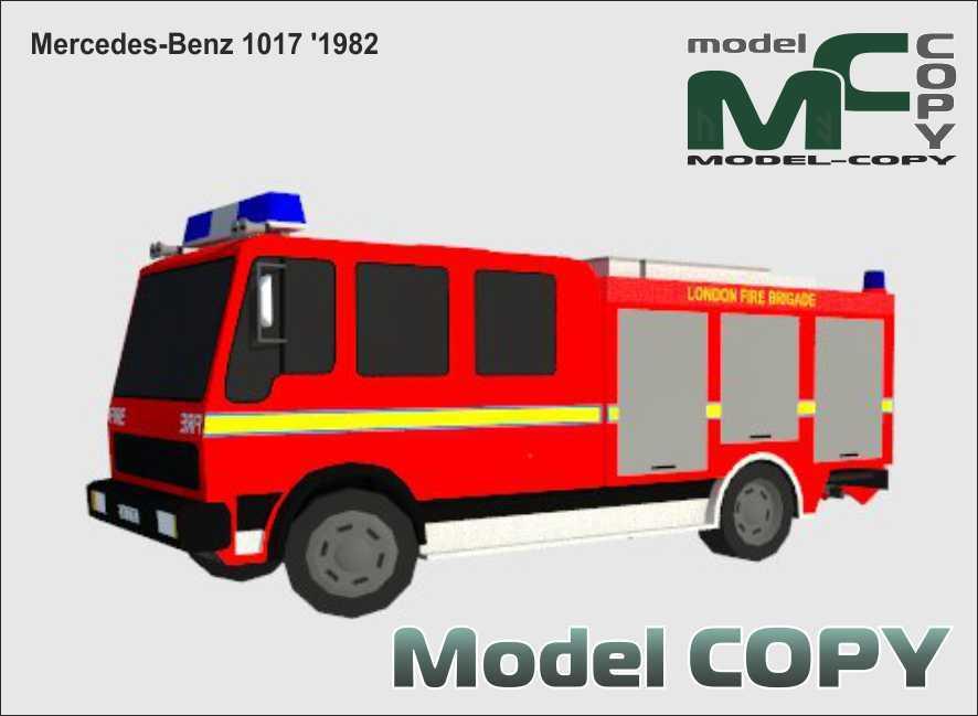 Mercedes-Benz 1017 '1982 - 3D Model