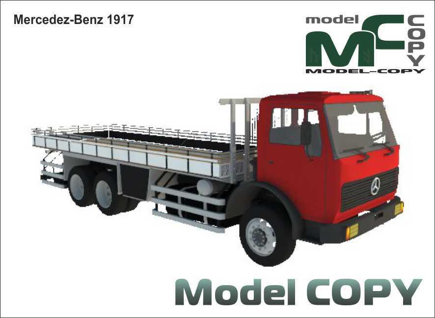 Mercedez-Benz 1917 - 3D Model