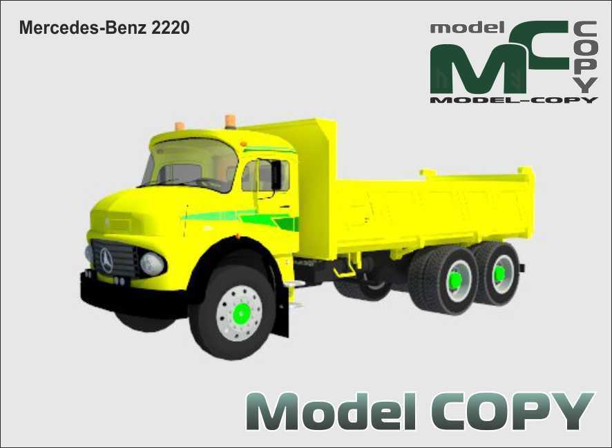 Mercedes-Benz 2220 - 3D Model