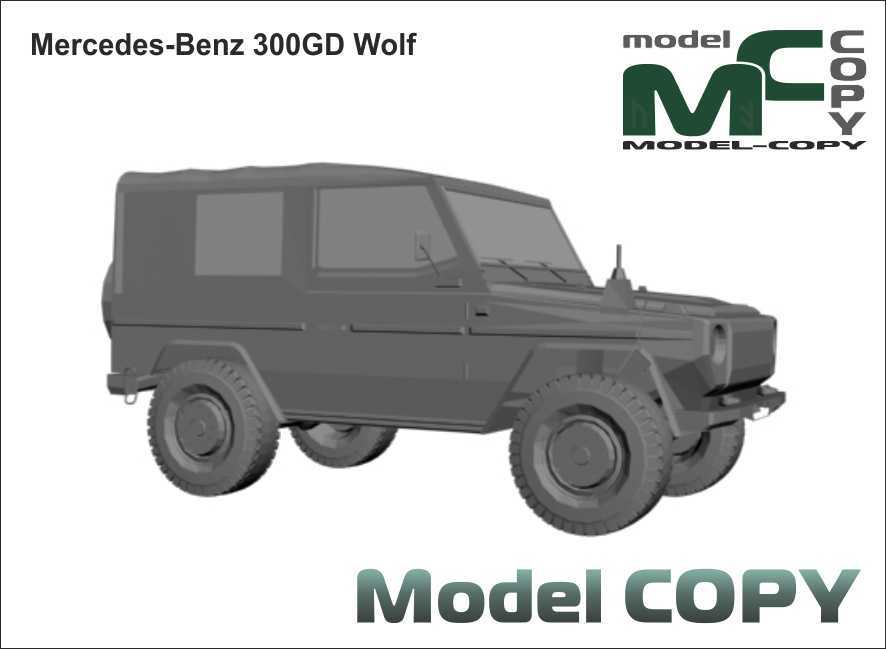 Mercedes-Benz 300GD Wolf - 3D Model