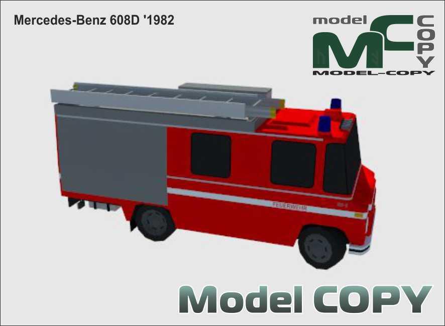 Mercedes-Benz 608D '1982 - 3D Model
