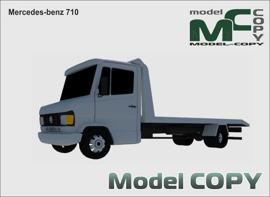 Mercedes-benz 710 - 3D Model