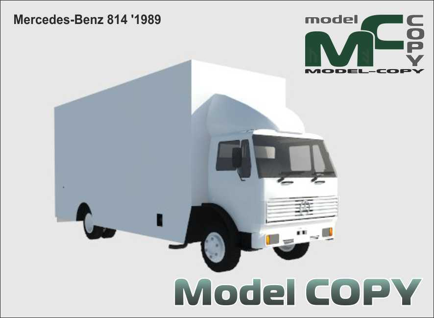Mercedes-Benz 814 '1989 - 3D Model