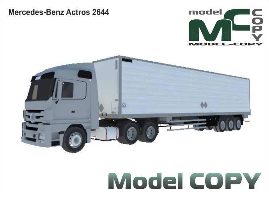 Mercedes-Benz Actros 2644 - 3D Model