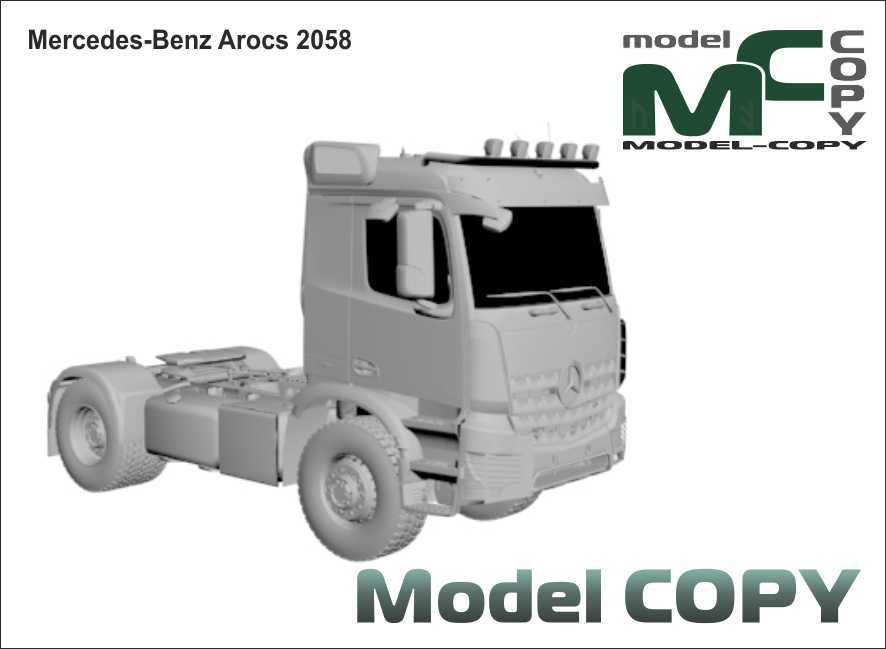 Mercedes-Benz Arocs 2058 - 3D Model