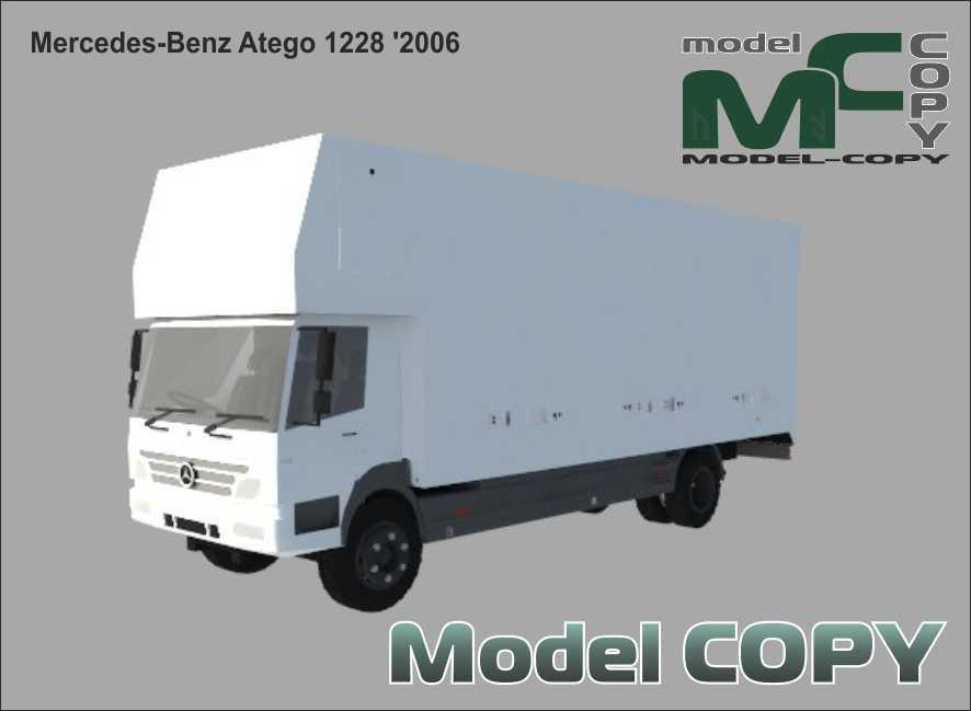 Mercedes-Benz Atego 1228 '2006 - 3D Model