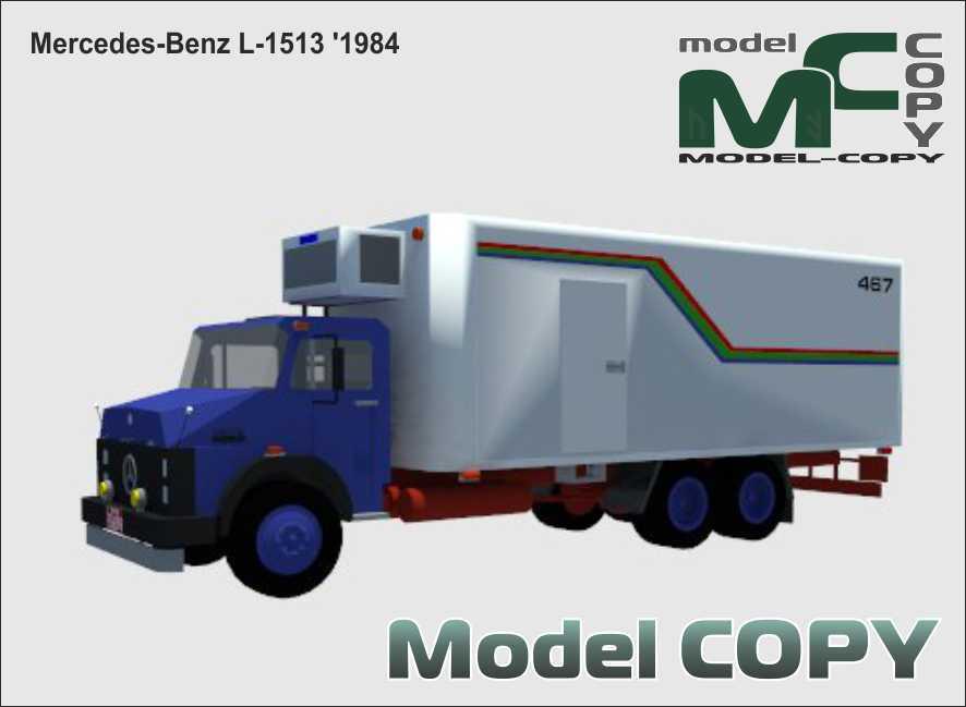 Mercedes-Benz L-1513 '1984 - 3D Model