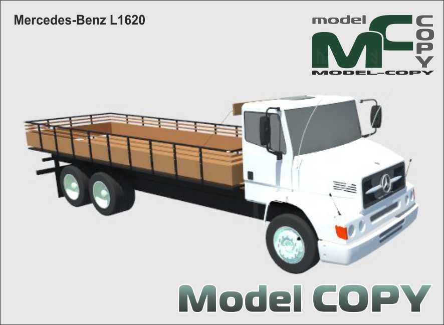 Mercedes-Benz L1620 - 3D Model