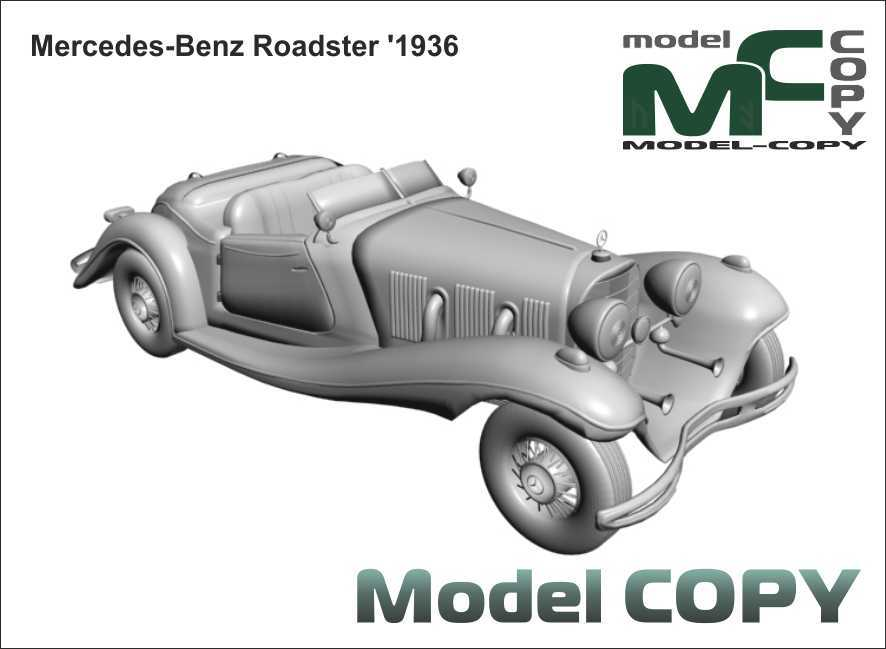 Mercedes-Benz Roadster '1936 - 3D Model