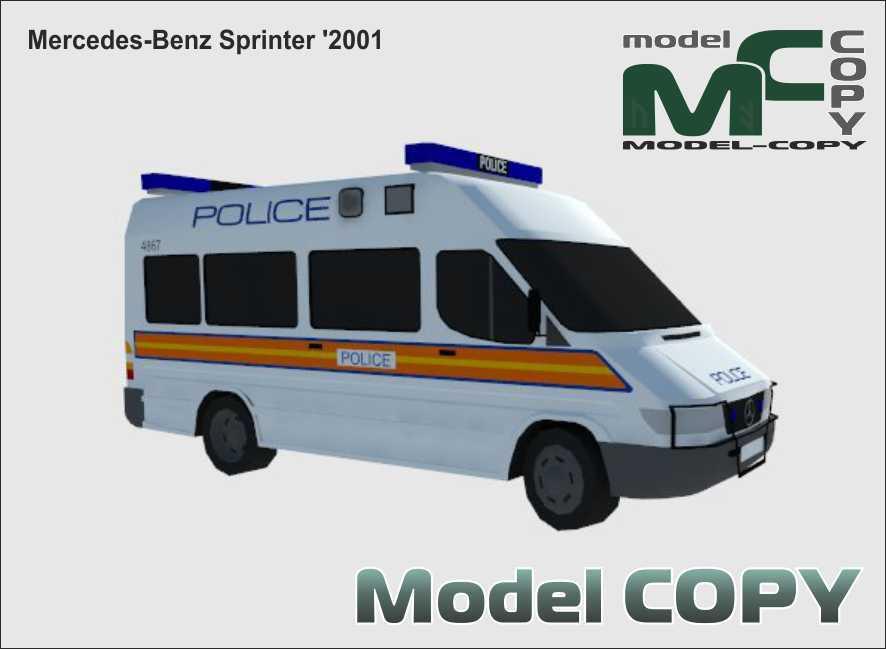 Mercedes-Benz Sprinter '2001 - 3D Model