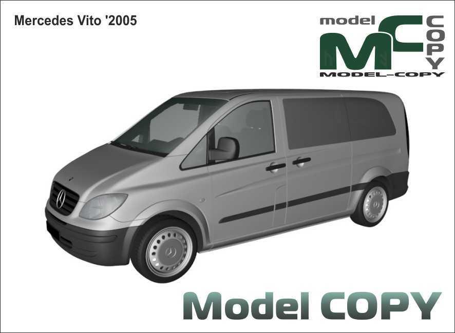 Mercedes-Benz Vito '2005 - 3D Model