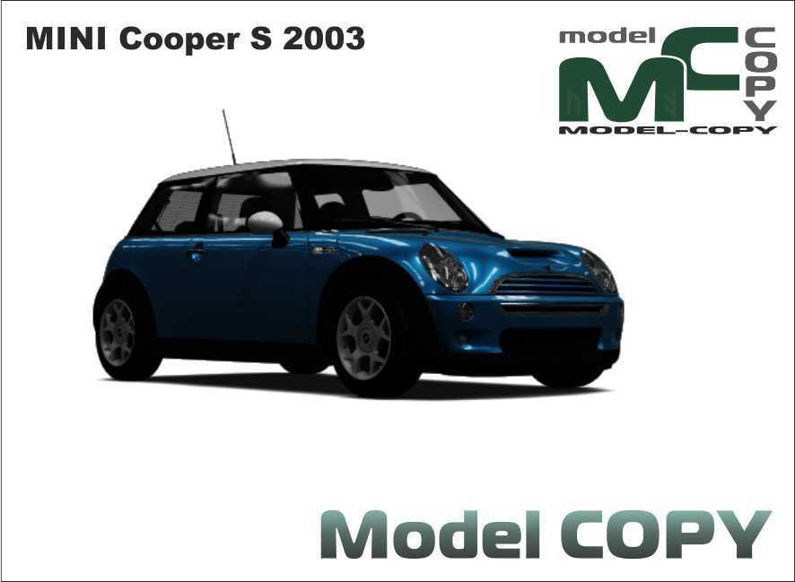 MINI Cooper S 2003 - 3D Model