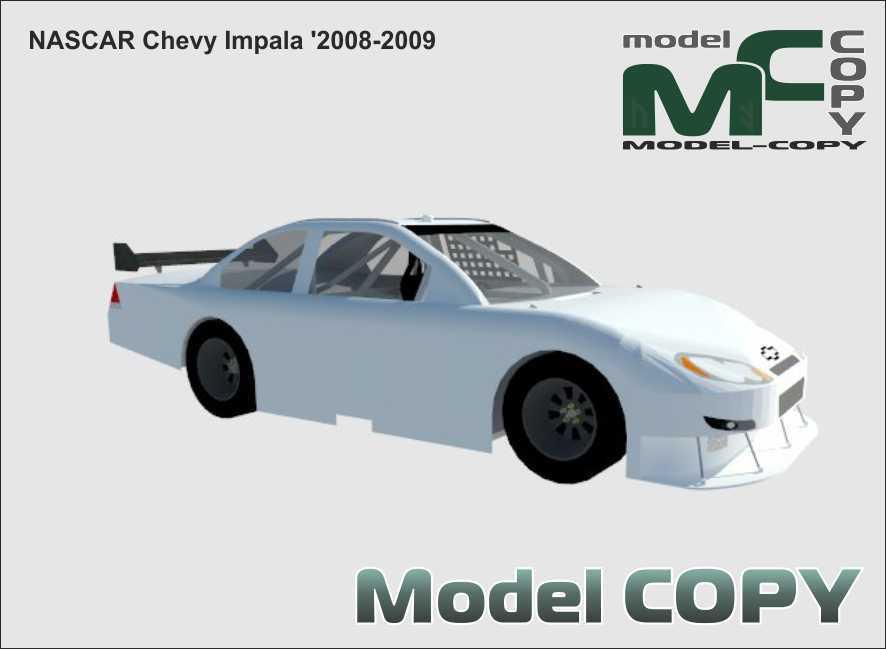 NASCAR Chevy Impala '2008-2009 - 3D Model