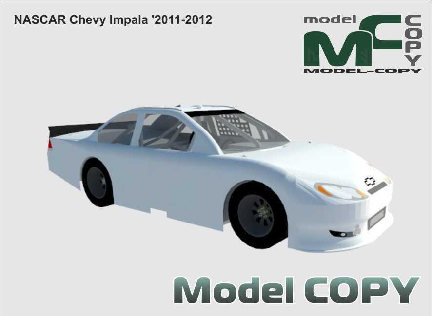 NASCAR Chevy Impala '2011-2012 - 3D Model