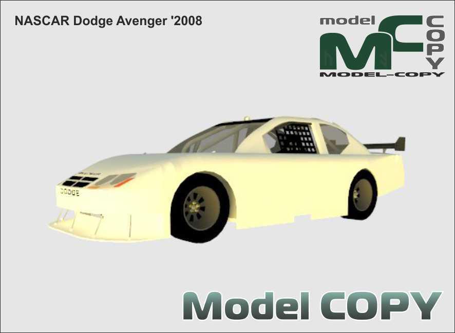 NASCAR Dodge Avenger '2008 - 3D-model