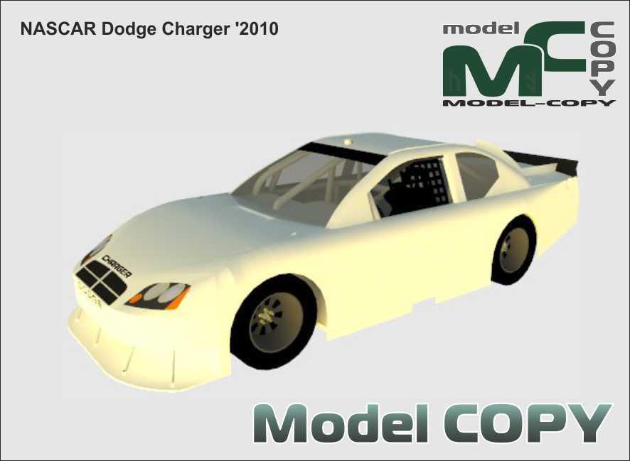 NASCAR Dodge Charger '2010 - 3D Model