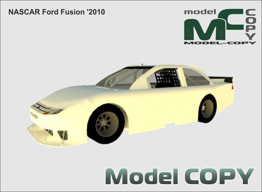 NASCAR Ford Fusion '2010 - 3D Model