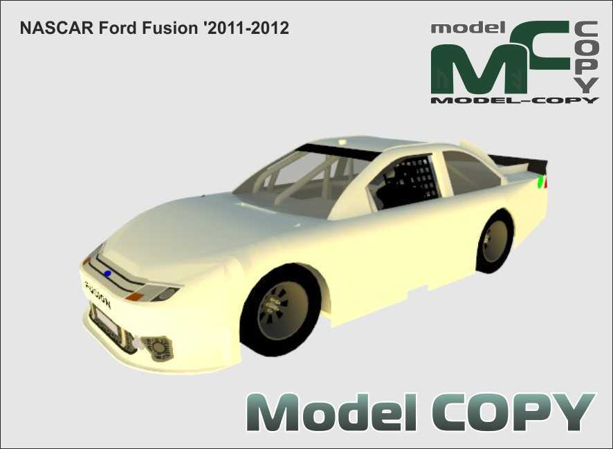 NASCAR Ford Fusion '2011-2012 - 3D Model