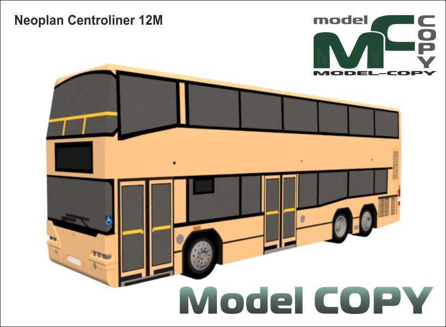 Neoplan Centroliner 12M - 3D Model